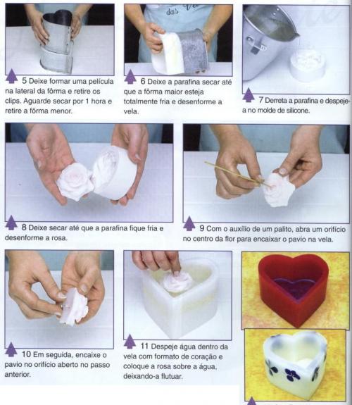 Как сделать простые свечи