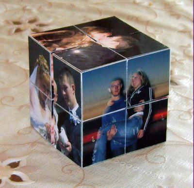 Фото на кубиках своими руками 43