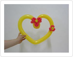 Два сердца из шаров как сделать своими руками
