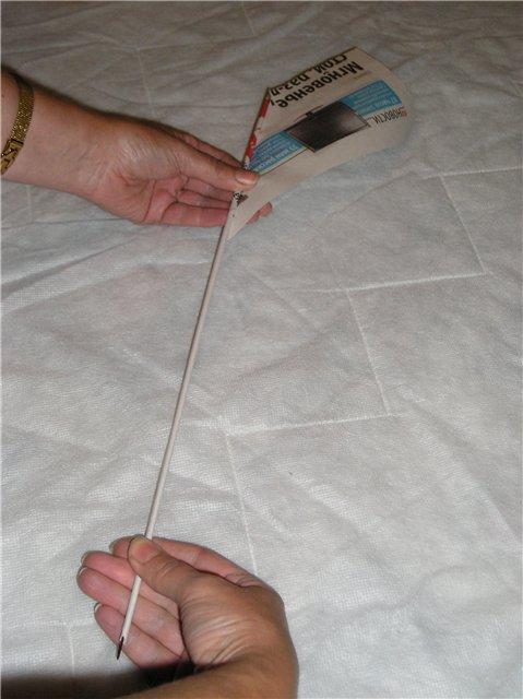 Как скрутить бумагу для плетения